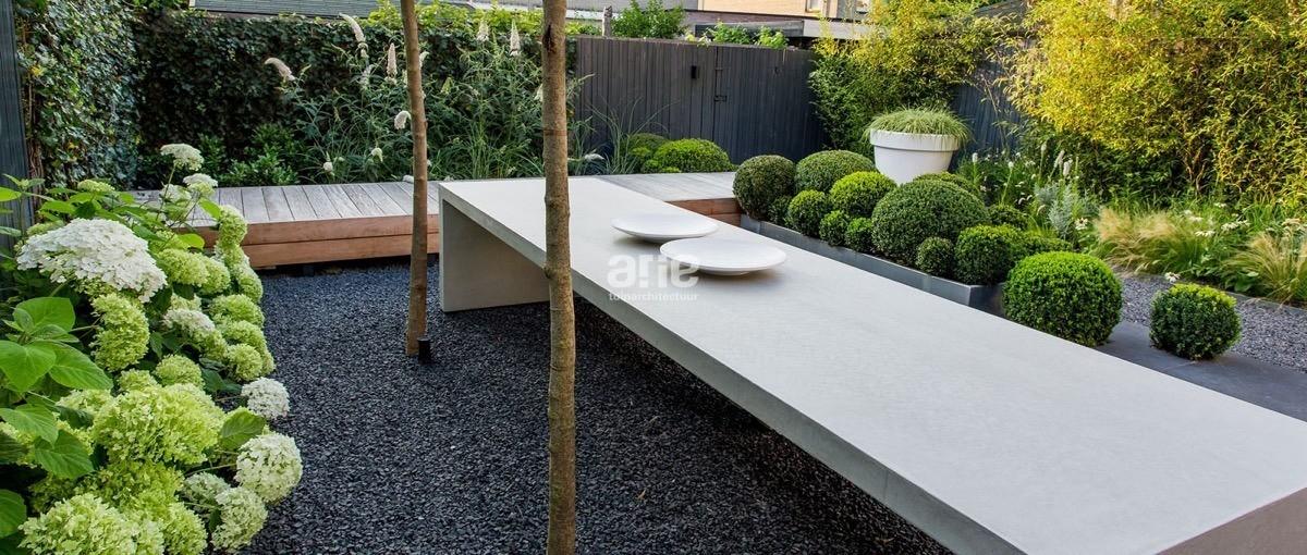 Stadstuinen ontworpen door arie tuinarchitectuur - Eigentijdse tuinarchitectuur ...